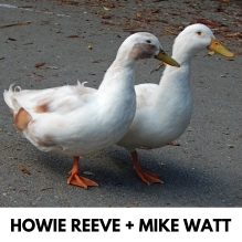 Howie Reeve & Mike Watt